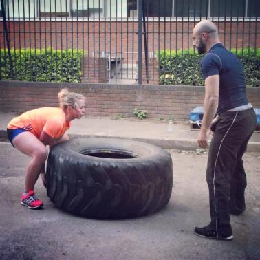 Tyre flip circuits weights