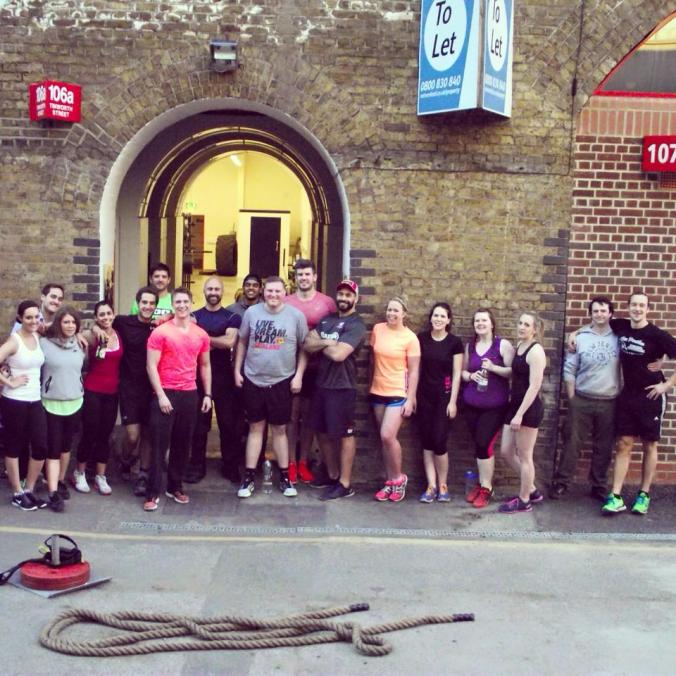 Strongman fitness class