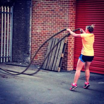 Battle ropes circuits